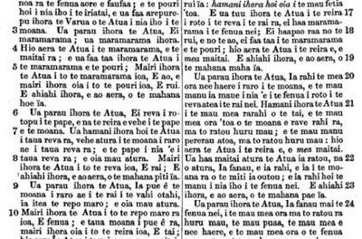 Lexique français-tahitien: quelques mots indispensables