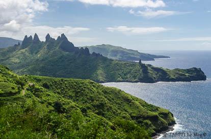 Photos de Polynésie: Aakapa à Nuku Hiva aux Marquises