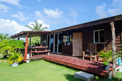 Fare potee de la Pension Vaiama à Fakarava