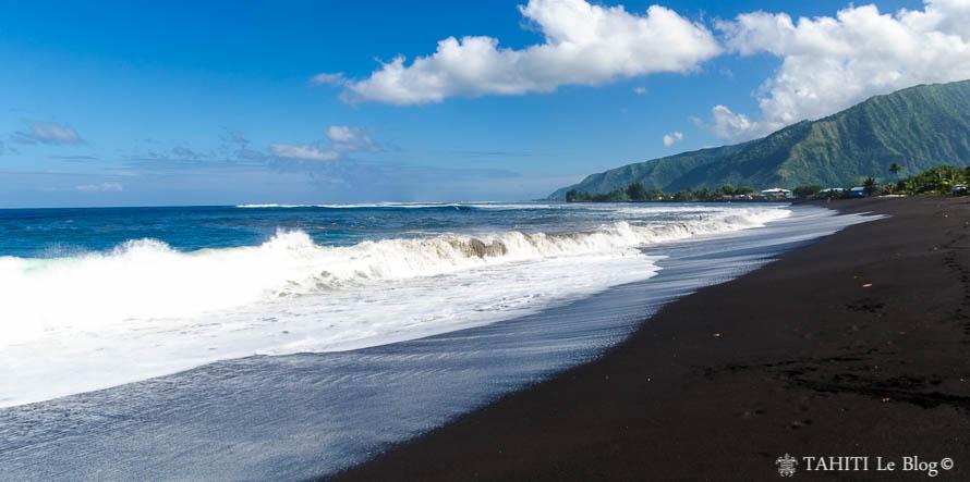 Plage de Papara à Tahiti