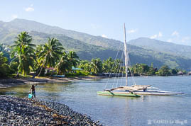 Pointe des pêcheurs à Tahiti