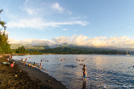 Plage de la pointe Vénus à Tahiti