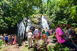 Tere Fa'ati 2017 : La cascade de Vaihi à Faaone