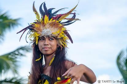 Tere Fa'ati 2017 : Danse marquisienne à Tahiti
