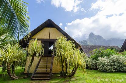 La maison du jouir de Paul Gauguin à Atuona sur l'île d'Hiva Oa
