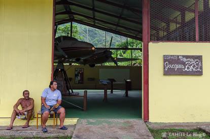Musée Jacques Brel à Atuona sur l'île d'Hiva Oa