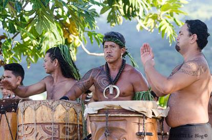 Tere Fa'ati 2017 : Tambours marquisiens