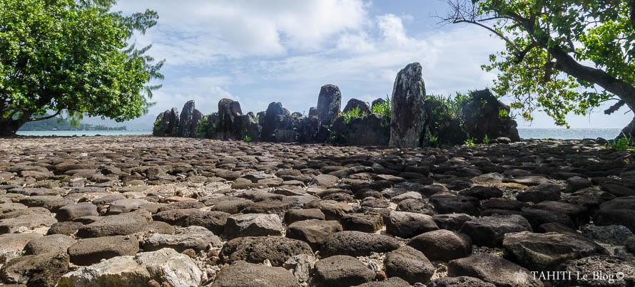 Marae de Taputapuatea à Raiatea