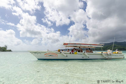Tahaa Tour excursion