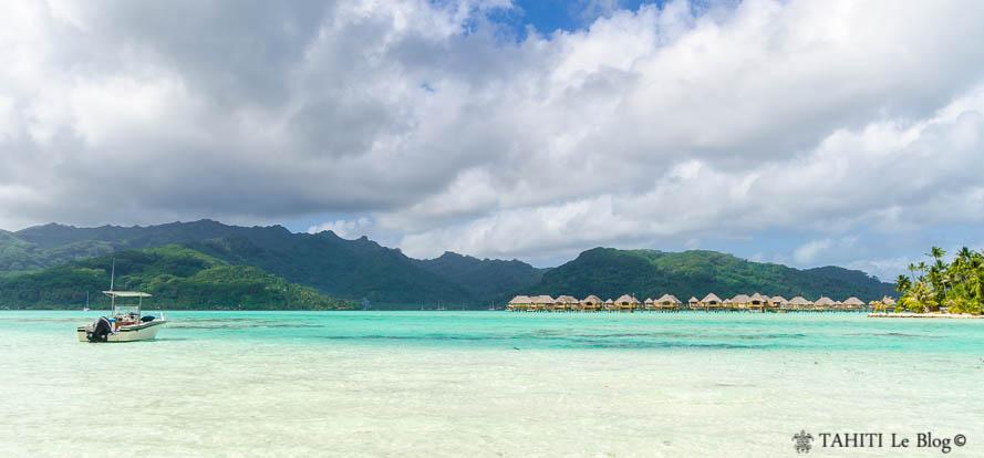 Photo de la Polynésie : Raiatea vu de Tahaa