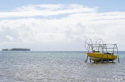 Le lagon de Raiatea
