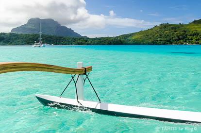 Photos de la Polynésie : Bora Bora et son lagon