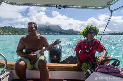 Tour du lagon de Bora-Bora