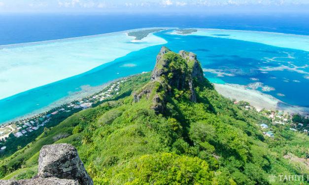 Maupiti: vie paisible, raies manta et lagon bleu