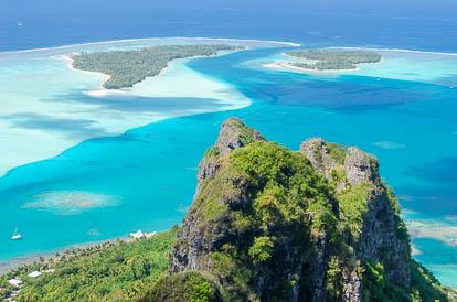 Photos de la Polynésie : Maupiti