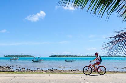 Tour de Maupiti en Vélo
