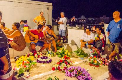 Jour des morts à Tahiti