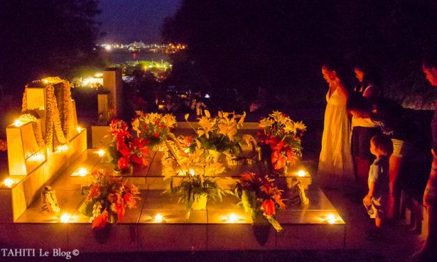 Le jour des morts à Tahiti: le Turamara'a