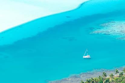 Lagon de Maupiti
