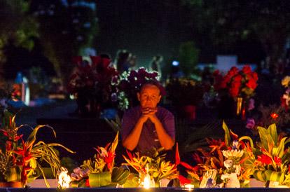 Jour des morts à Papeete