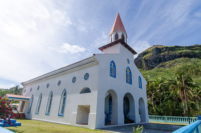Temple à Raivavae aux Australes