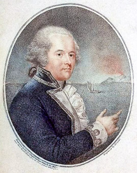 William Bligh capitaine de la Bounty