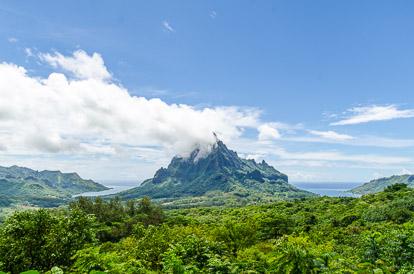 Photos de la Polynésie : Moorea baie de Cook