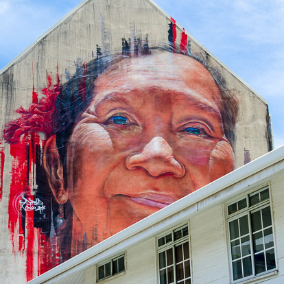 Street art et graffiti à Tahiti : Adnate