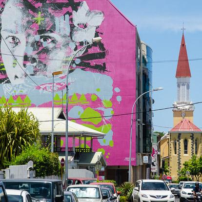 Street art et graffiti à Tahiti : Askew