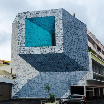 Street art et graffiti à Tahiti : Astro