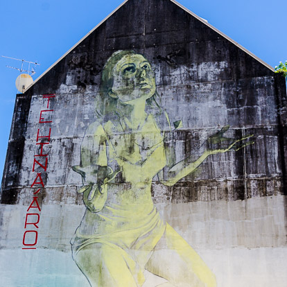 Street art et graffiti à Tahiti : Faith47