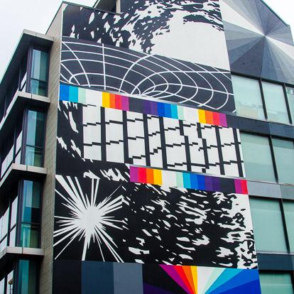 Street art et graffiti à Tahiti : Felipe Pantone