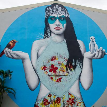 Street art et graffiti à Tahiti : FinDAC