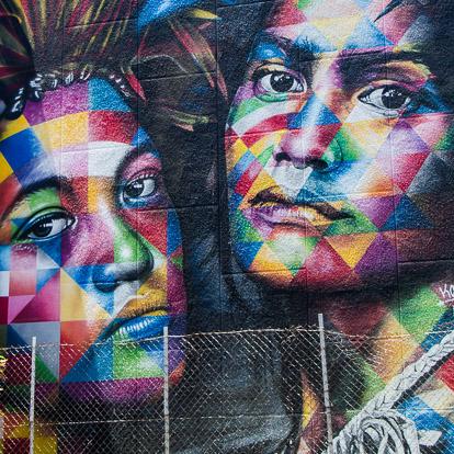 Street art et graffiti à Tahiti : Kobra