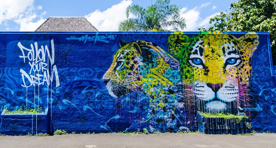 Street art et graffiti à Tahiti: le festival international Ono'u