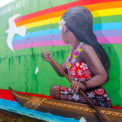 Street art et graffiti à Tahiti : Seth
