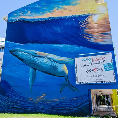 Street art et graffiti à Tahiti : Seyb