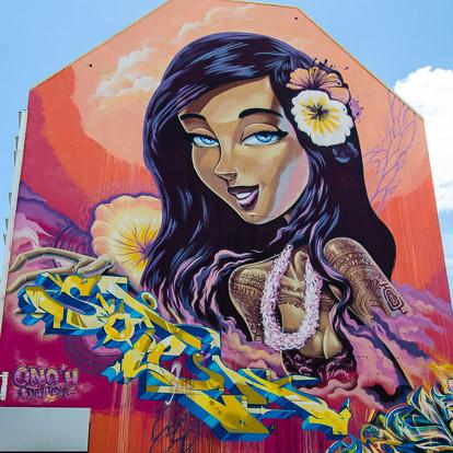 Street art et graffiti à Tahiti: Soten Sofles
