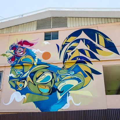 Street art et graffiti à Tahiti : Suiko