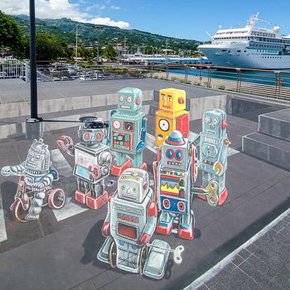Street art et graffiti à Tahiti :Leon Keer