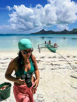 Interne à Tahiti : visite des îles