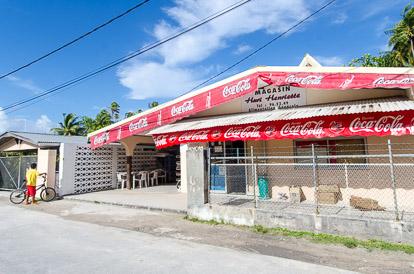 Épicerie de Tuherahera à Tikehau