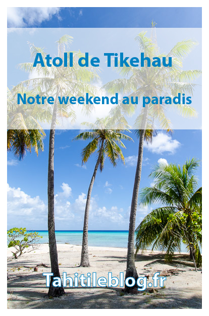 Voyage à Tikehau. Nous avons découvert, sur un weekend, l'atoll de Tikehau aux Tuamotu en Polynésie française: lagon turquoise, îlots paradisiaques, plongée, accueil chaleureux à la pension de famille et tranquillité.