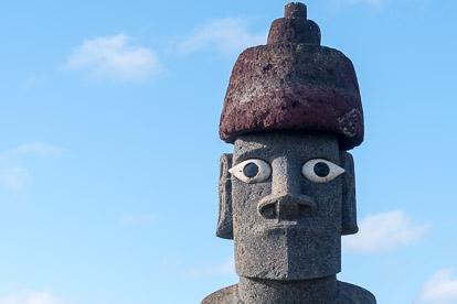 Moai à Hanga Roa