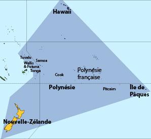 Le triangle polynésien