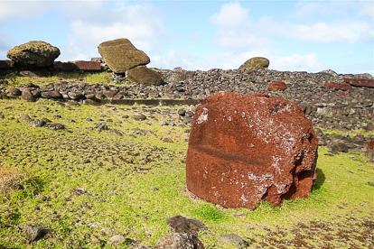 île de Pâques : Akahanga