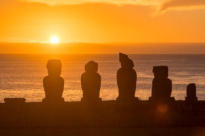 île de Pâques : Tahai