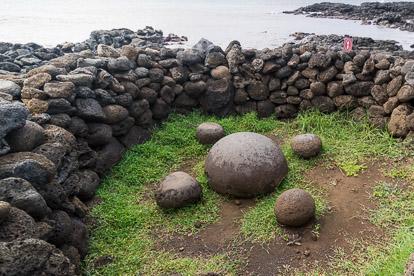 île de Pâques : Te Pito Kura le nombril du monde