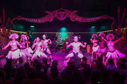 île de Pâques: spectacle de danse Rapa Nui