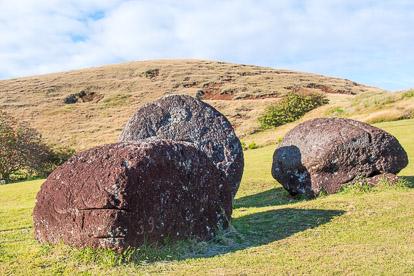 île de Pâques : Puna Pau